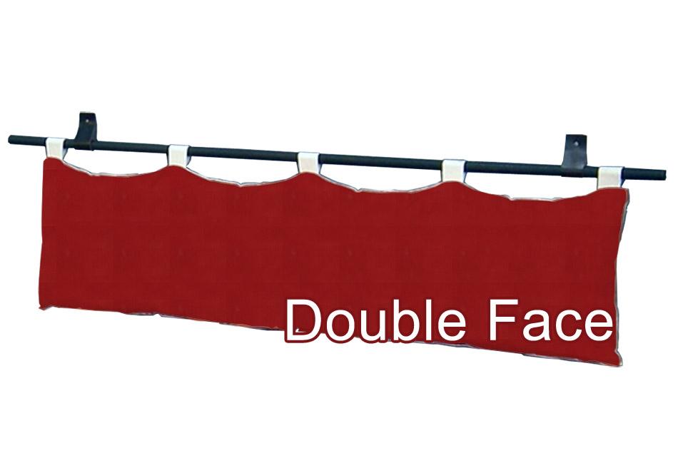 Cover a 2 colori per testiere a cuscino yogi arredo e corredo - Testiere letto a cuscino ...