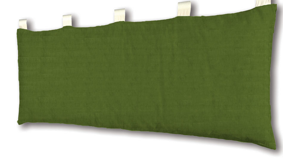 Cover per testata letto bali in caleido lino cotone for Ikea cuscini letto