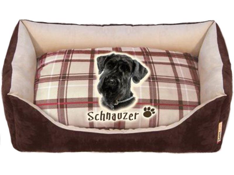 Cuccia per cane schnauzer sfoderabile arredo e corredo for Cuccia cane morbida
