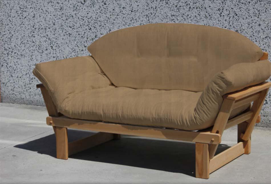 Divano letto futon lattice ali arredo e corredo for Divano letto futon