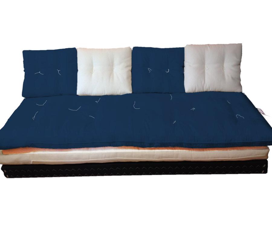 Divano letto futon pacha panama matr arredo e corredo for Divano letto futon