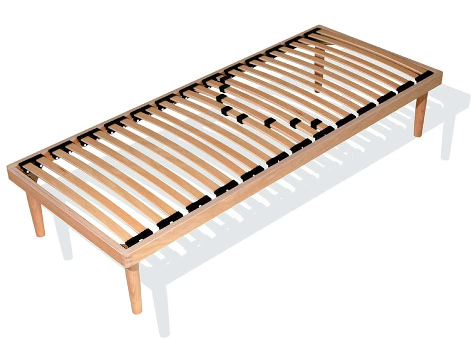 Doghe in legno per letto basculanti sebs rete singola arredo e corredo - Rete letto legno ...