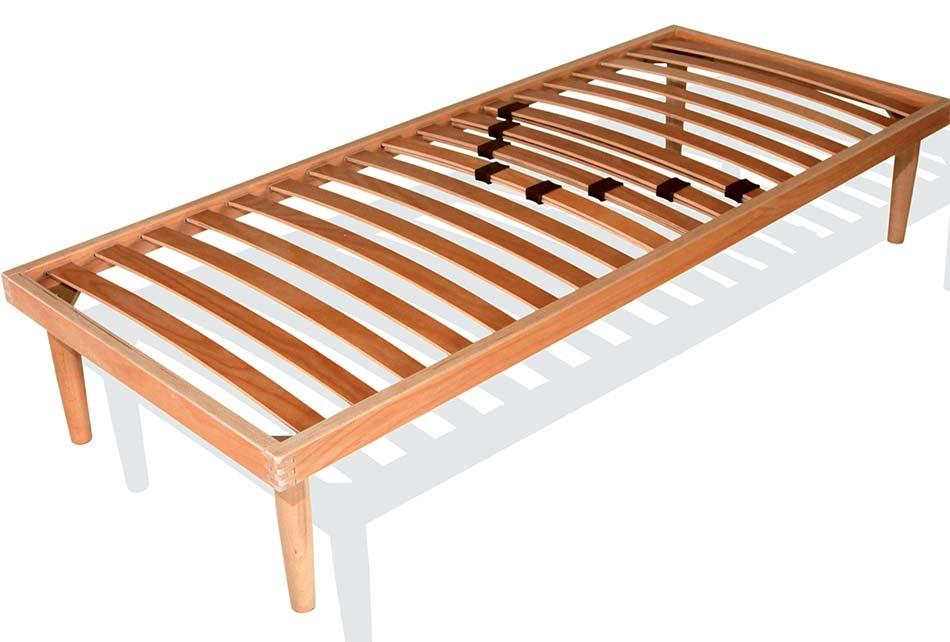 rete a doghe in legno con regolatori lombari - singola - Arredo e Corredo