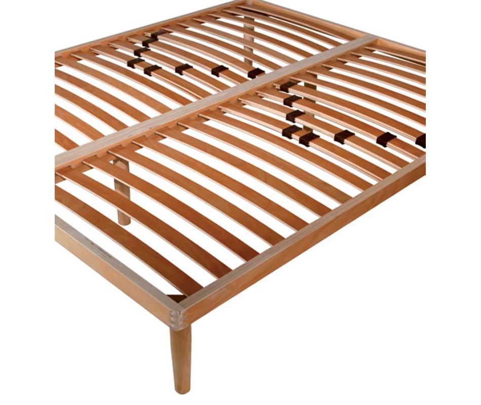 reti a doghe in legno con regolatori lombari - matrimoniali - Arredo e Corredo