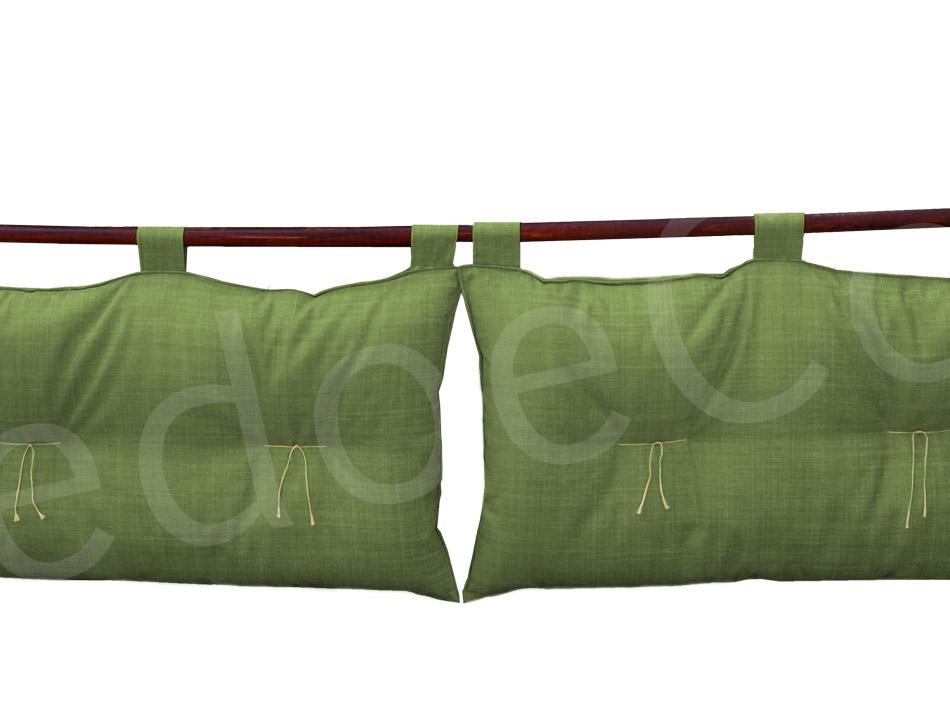 Testiera per letto fodera design casa creativa e mobili - Cuscini per spalliera letto ikea ...
