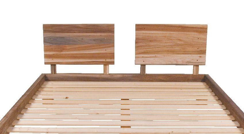 Testiera matrimoniale in legno arredo e corredo - Testiera letto legno ...