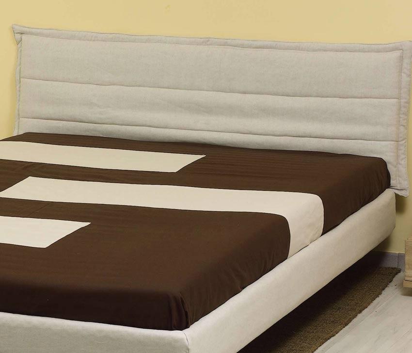 Vestito cotone per testiera letto solypso arredo e corredo - Testiera per letto ...