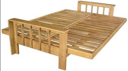 Divano letto in legno boogie idee creative e innovative - Divano letto doghe in legno ...