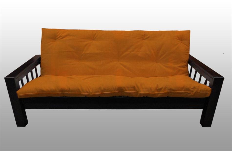 Divano letto kyoto in legno con futon arredo e corredo - Futon divano letto ...