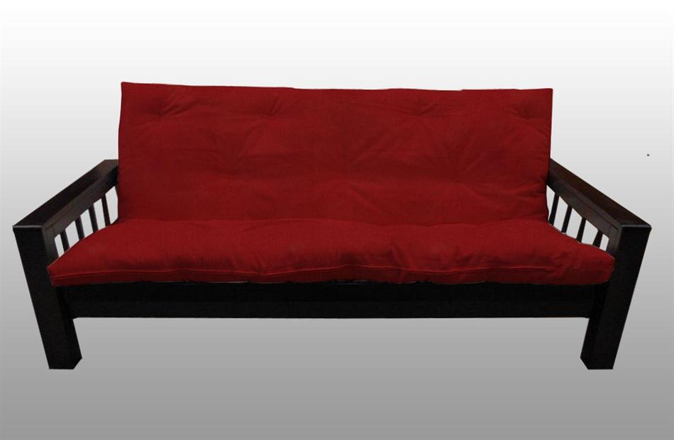 Divano letto kyoto in legno con futon arredo e corredo - Divano letto futon ...