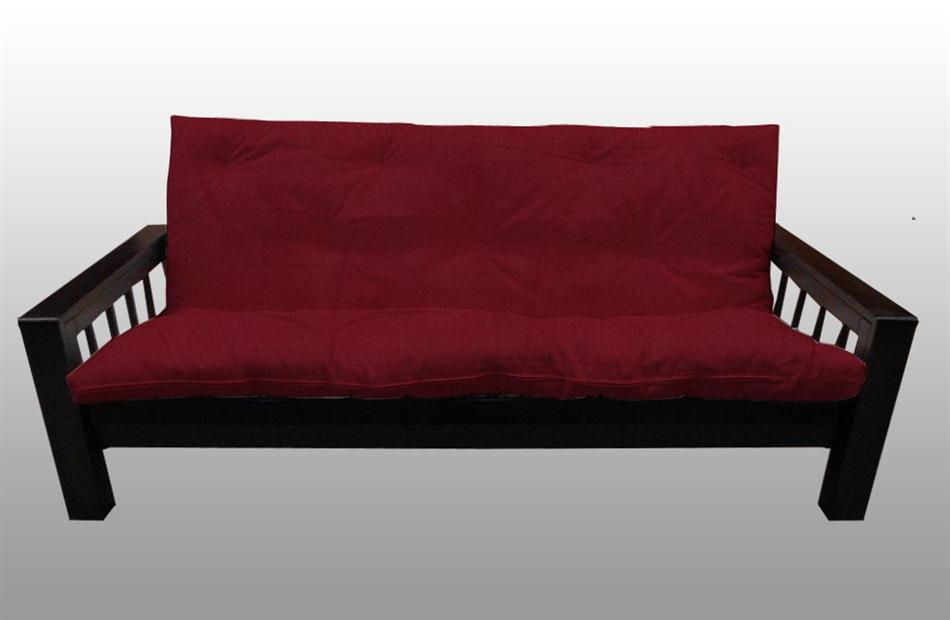 Divano letto kyoto in legno con futon arredo e corredo for Letto futon
