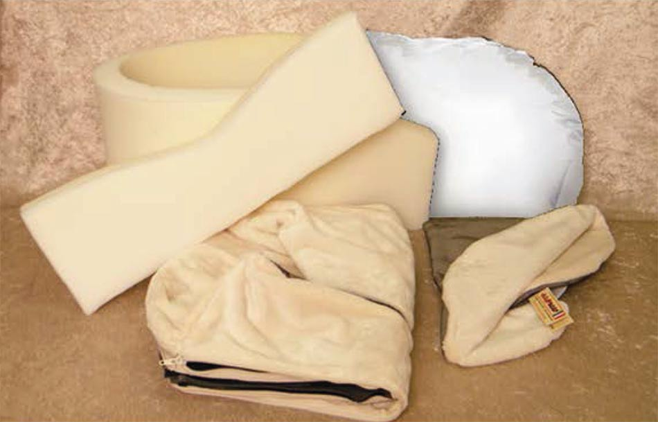 Cuccia per cani ovale sfoderabile cotone arredo e corredo for Cuccia cane morbida