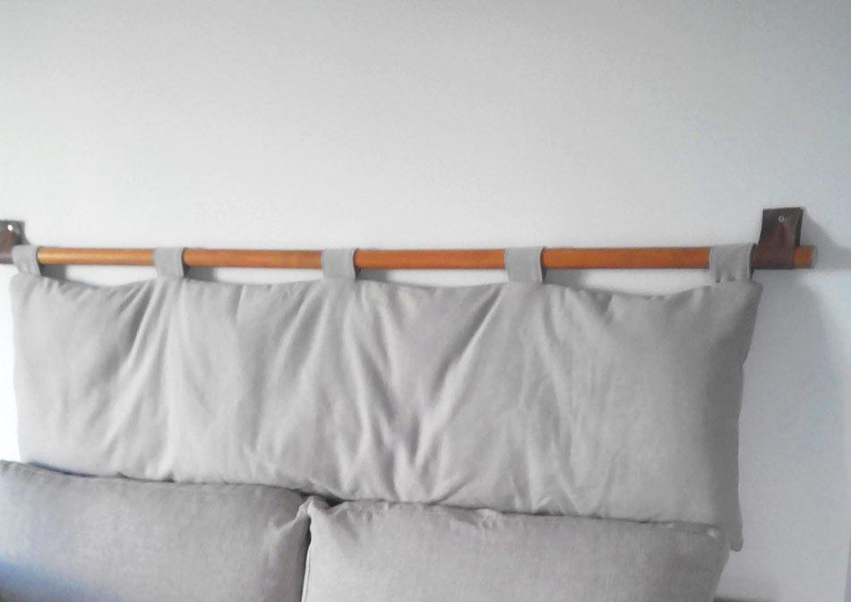 Cover per testata a cuscino bali nilo arredo e corredo - Cuscini testiera letto ...