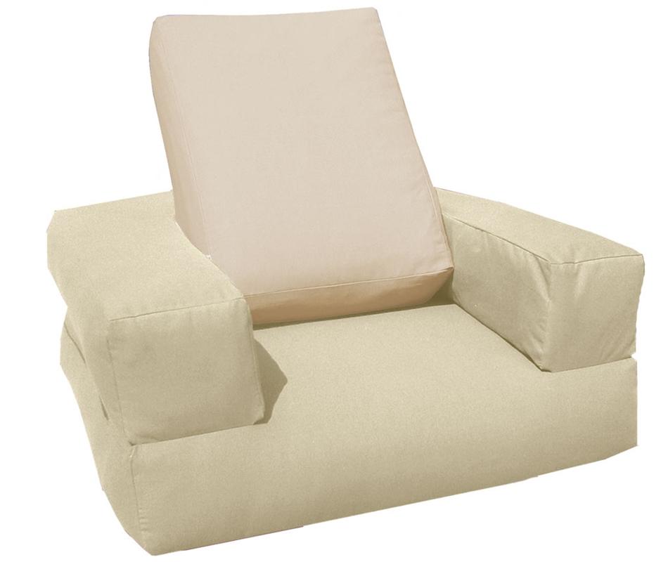 Pouf Letto futon Cubo Basic - Arredo e Corredo