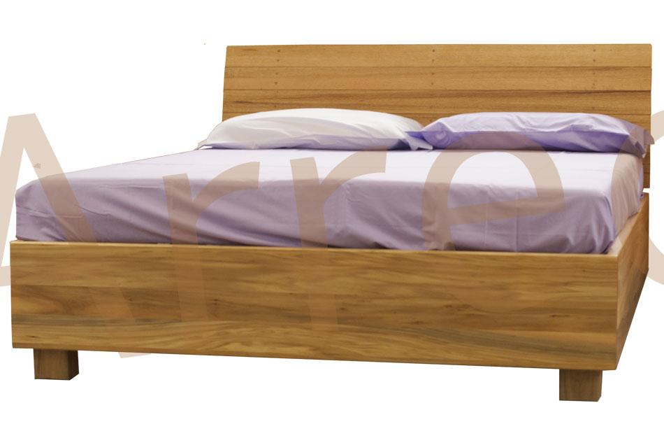 Letto in legno con contenitore bauletto arredo e corredo - Letto contenitore legno ...