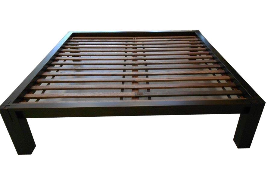 Letto in legno Tatami completo di Futon doghe - Arredo e Corredo