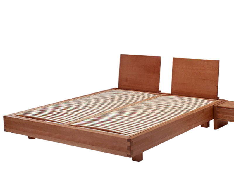 Letto in legno exil con testiera riposizionabile arredo - Testiera letto in legno ...