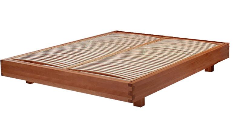 letto in legno Exil con testiera riposizionabile - Arredo e Corredo