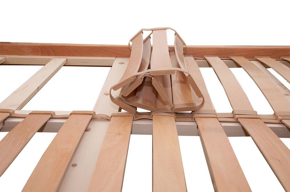 Doghe per letto matrimoniale in legno flessibili in faggio