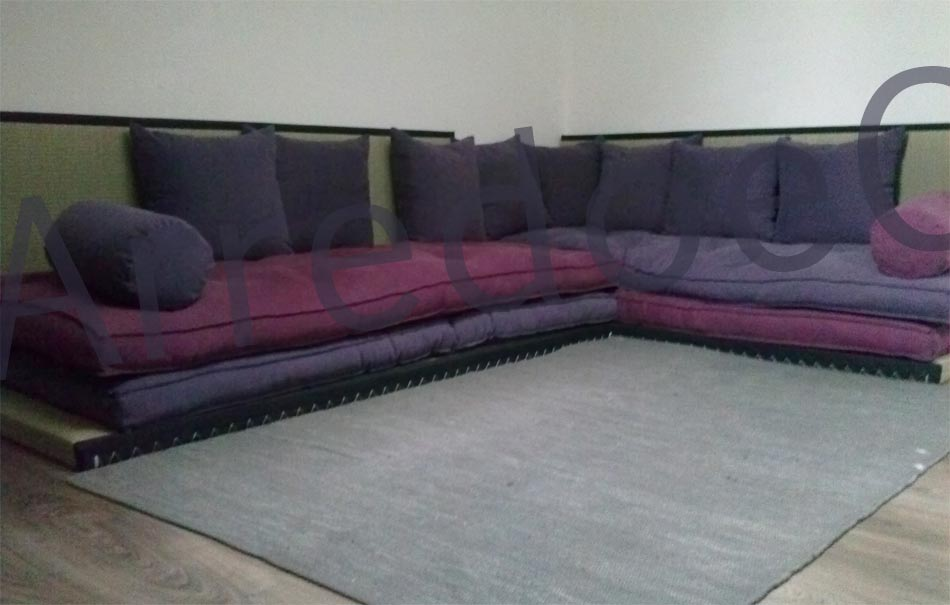 Divano letto futon pacha sahara matrimoniale arredo e for Futon divano