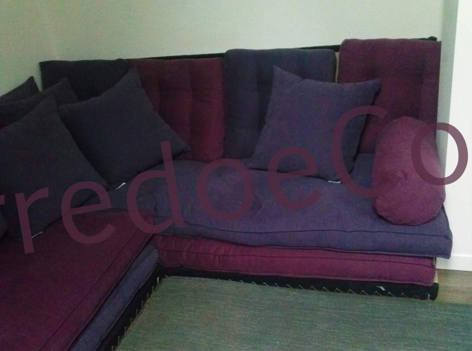 Divano futon letto pacha retr arredo e corredo - Divano letto retro ...
