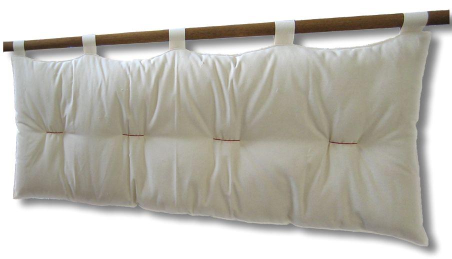 Testiera letto a cuscino bali basic con kit ancoraggio opzionale arredo e corredo - Testate letto con cuscini ...