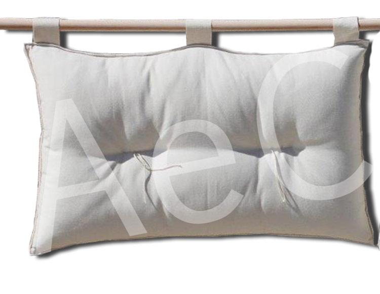 Testiera letto a cuscino Bali (h.50cm) - Basic ecr? - Arredo e ...