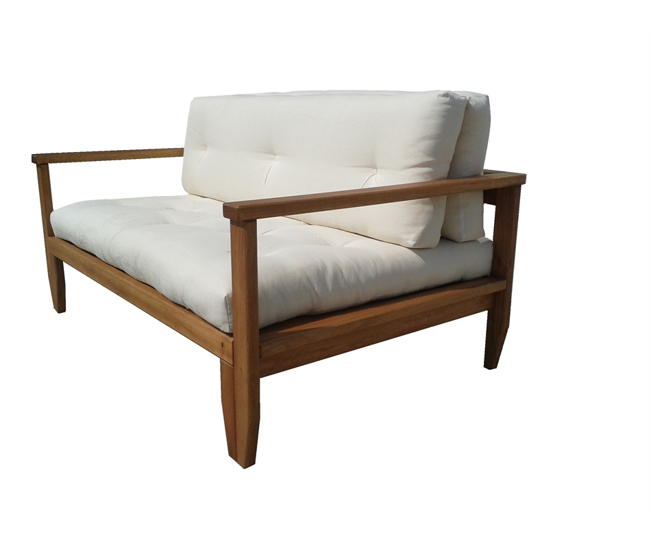 divano letto in legno - scivolo con futon - arredo e corredo - Divano Letto Matrimoniale Legno