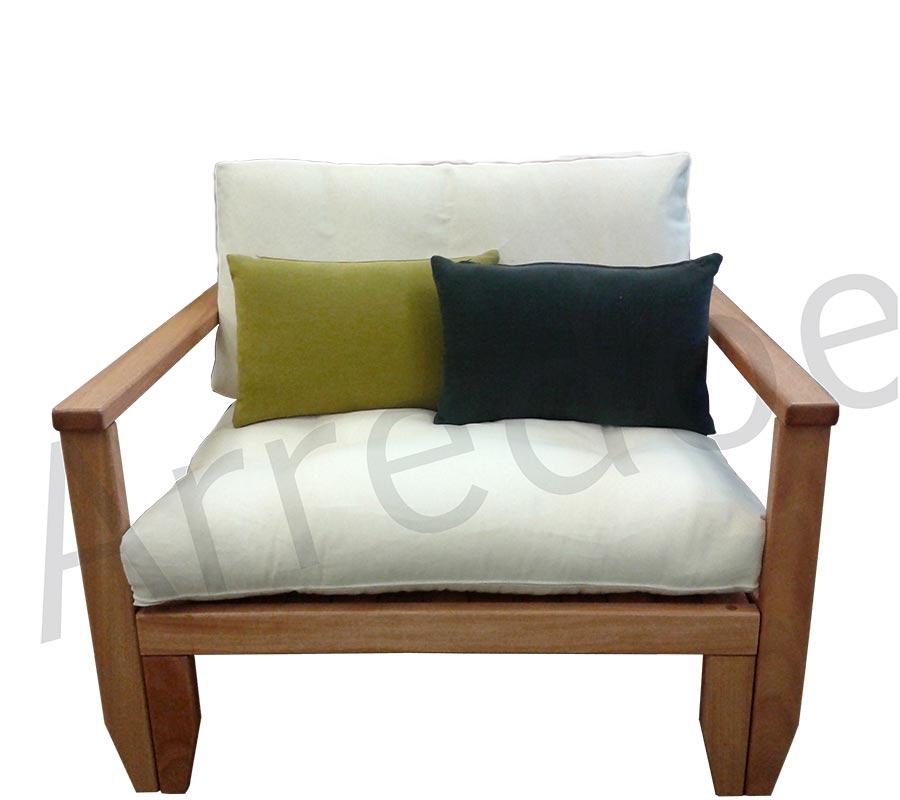 Poltrona letto in legno con futon scivolo arredo e corredo - Letto con scivolo ...