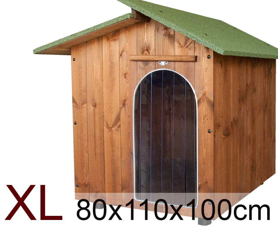 Cuccia extra large per cani in legno cuccia per amore for Cucce da interno per cani taglia grande